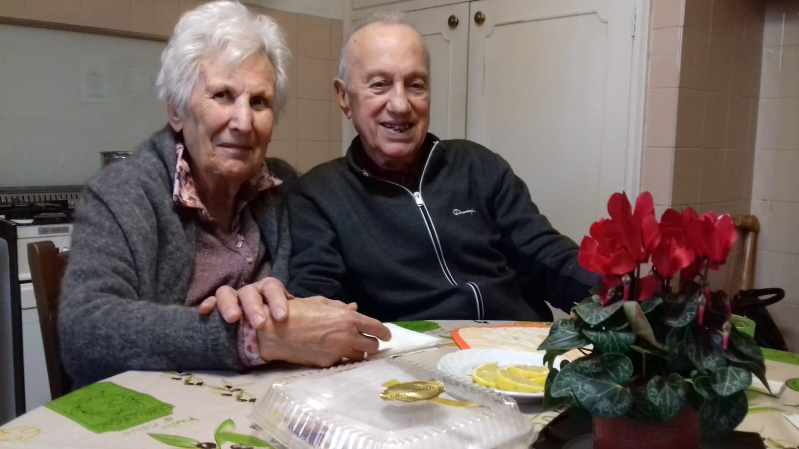Vera e Gilberto festeggiano 65 anni di matrimonio