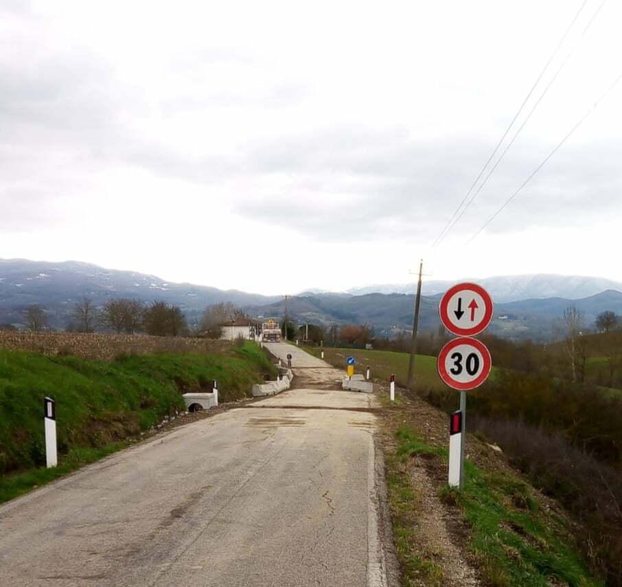 Borgo S.Lorenzo: riaperta la strada di Piazzano