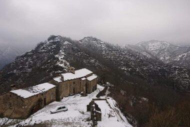 Palazzuolo - Lozzole sotto la neve