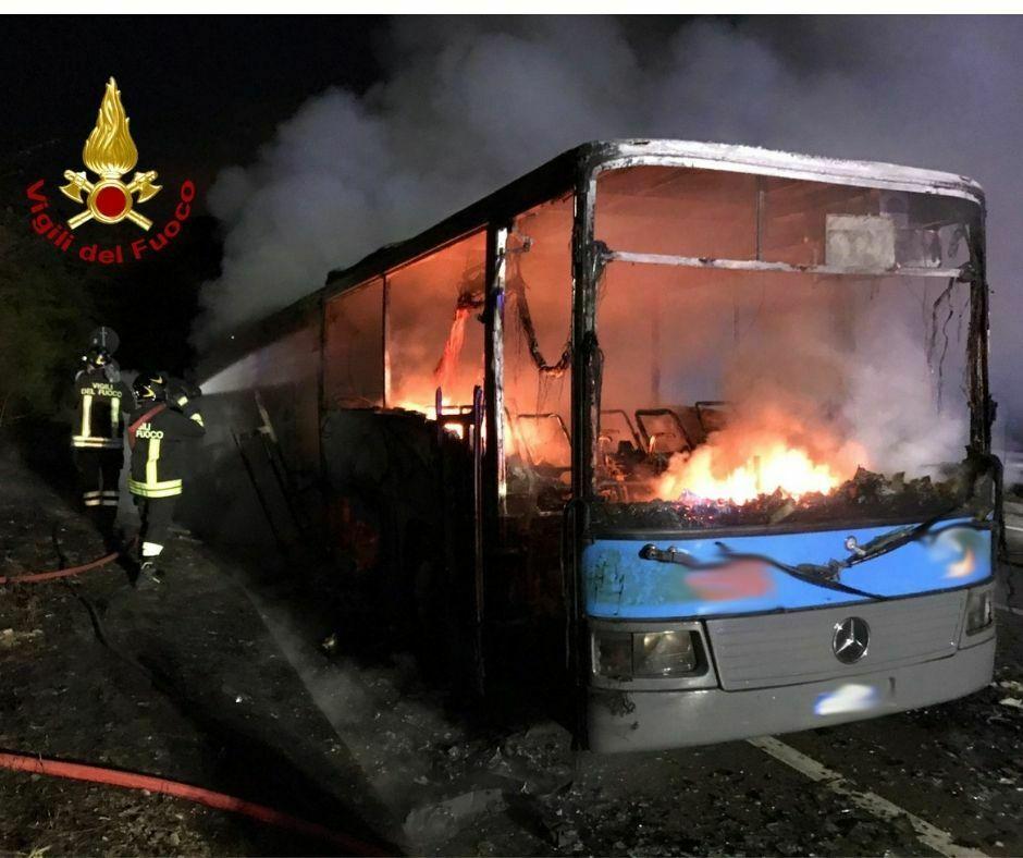 Incendio alle Croci di Calenzano