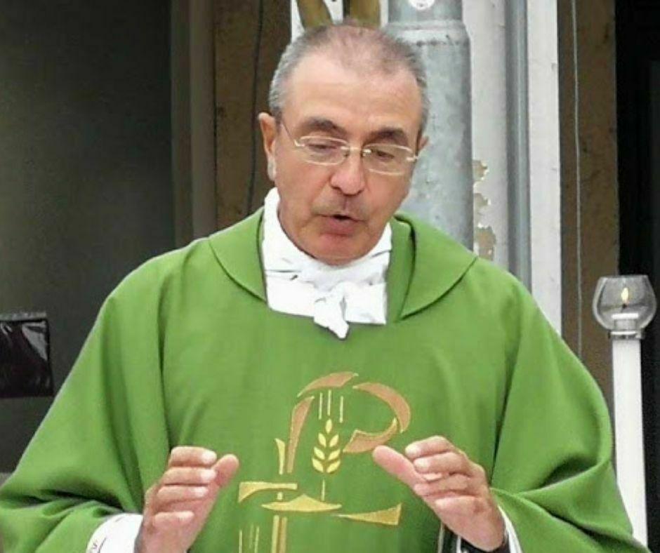 Don Luciano Marchetti Pievano di Borgo