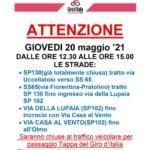 Giro d'Italia passa per Vaglia