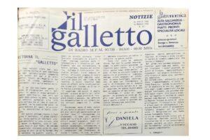Primo Numero de Il Galletto