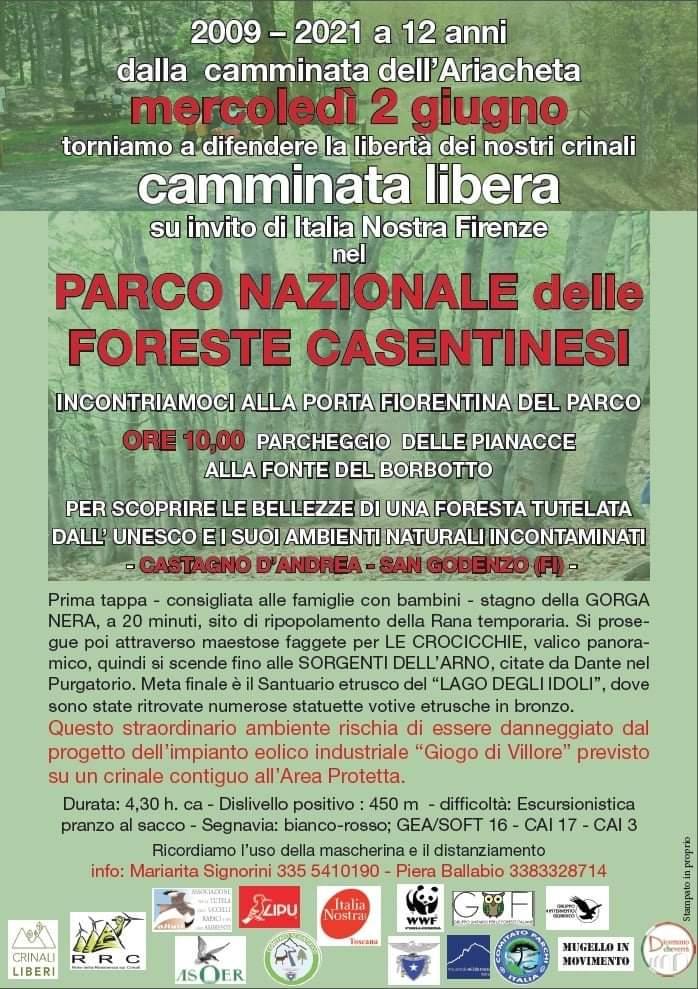 Loc. Escursione di Italia Nostra a Castagno D'Andrea