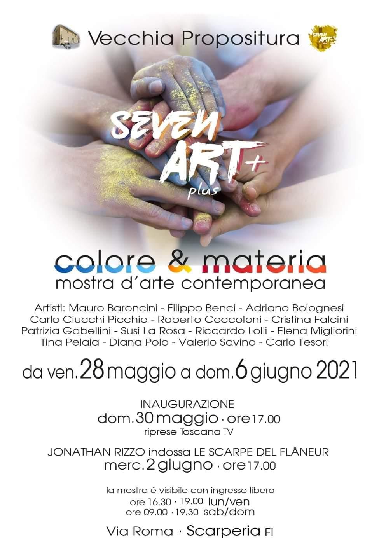 "Loc. Mostra ""Colore & Materia"""