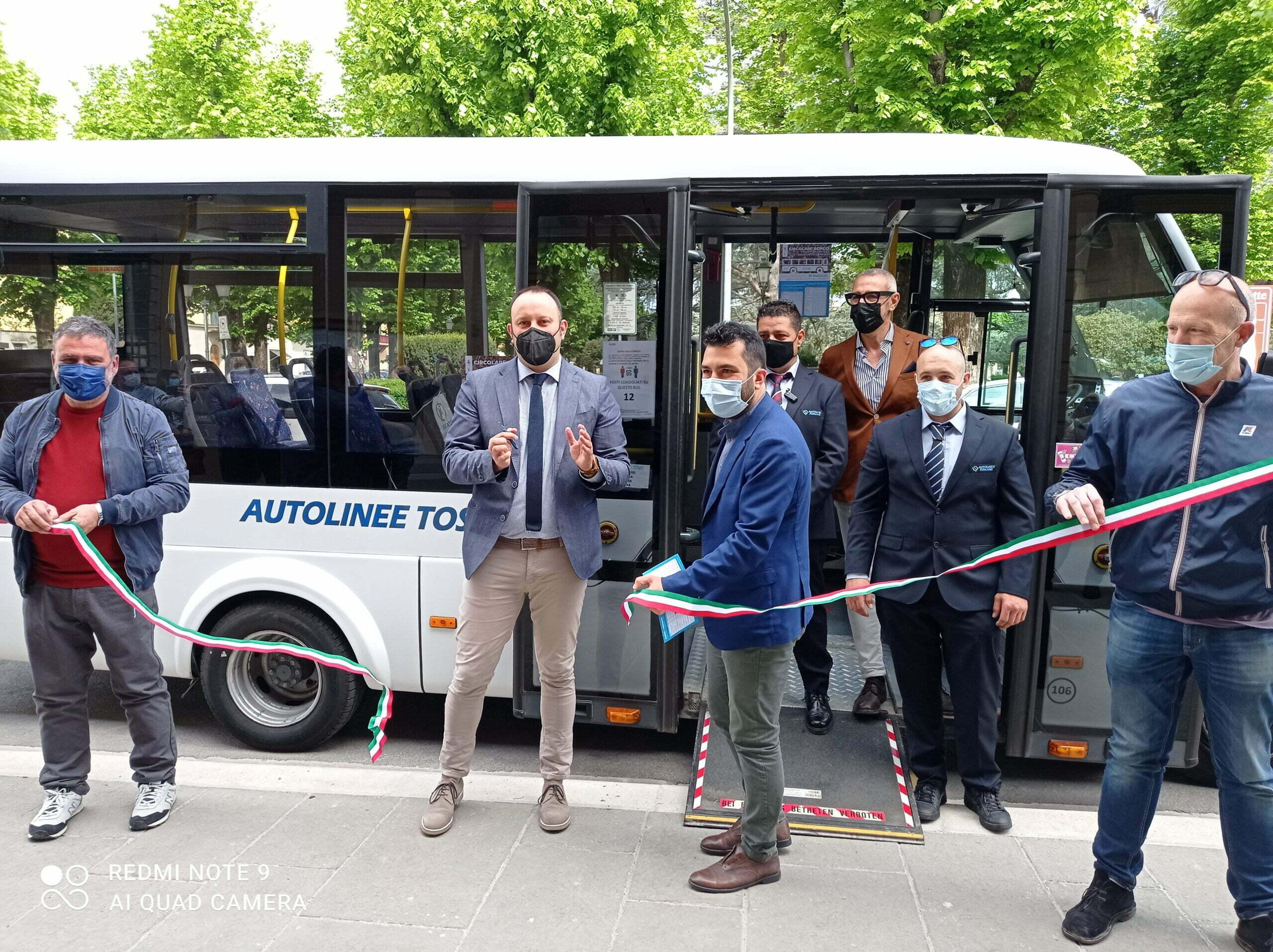 Taglio nuovo servizio trasporto pubblico Borgo