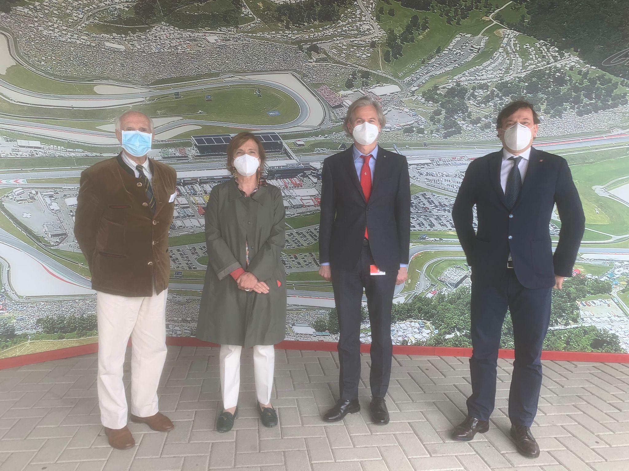 Visita Prefetto all'Autodromo Internazionale del Mugello a Scarperia