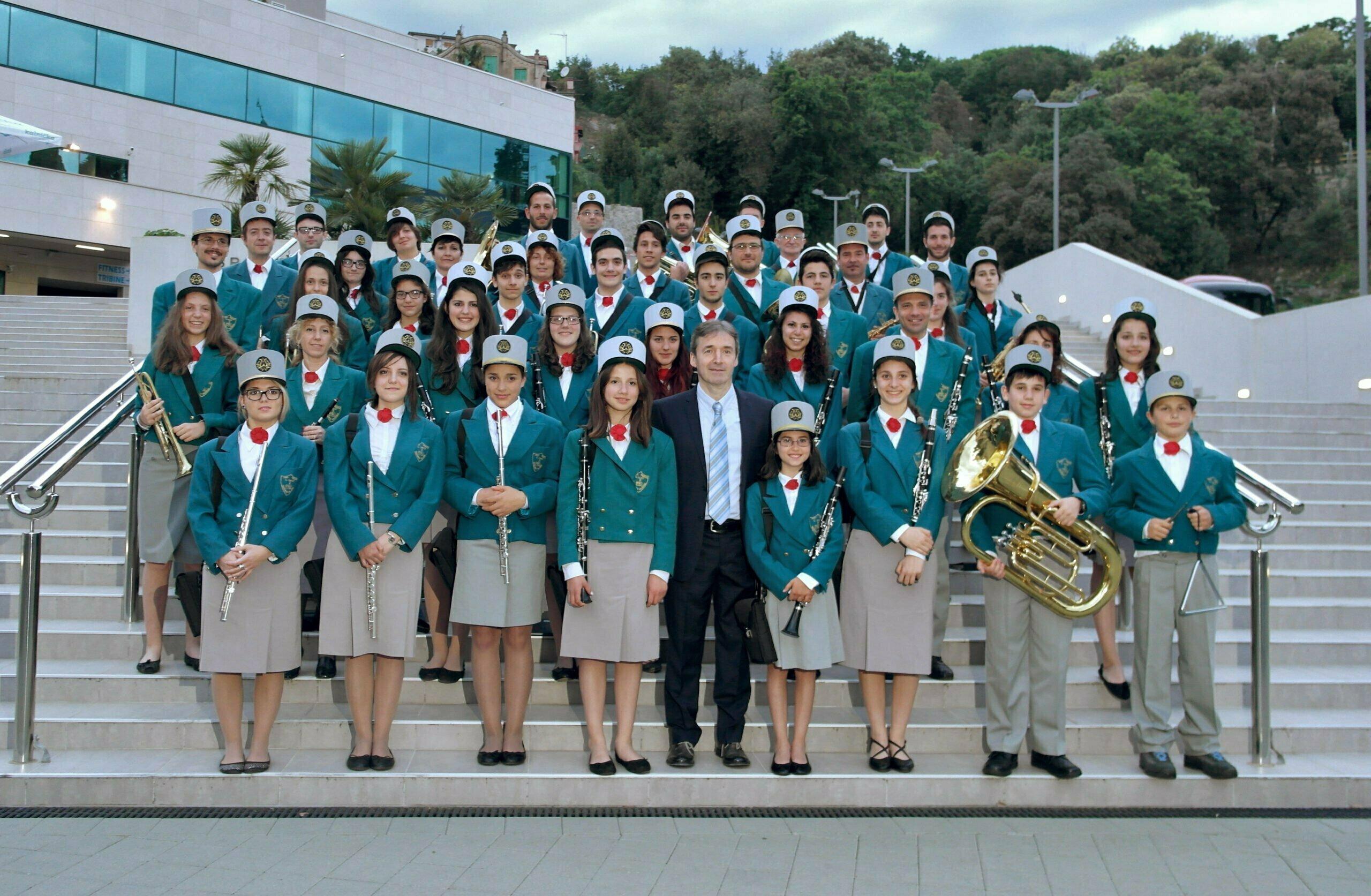 09 05 2015 concerto a Opatija banda Palazzuolo