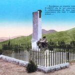 1934 - Stele del capitano D'Amico poi distrutta