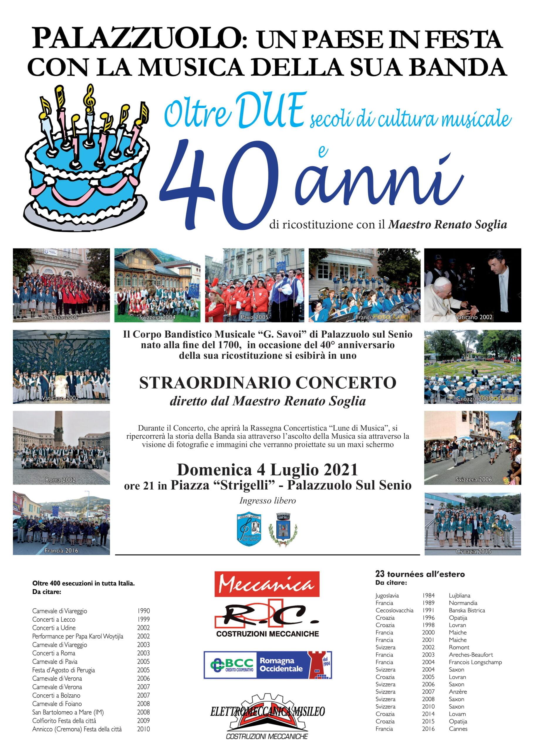 200 Anni di Musica 40 anni