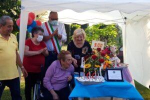 Compleanno di Olema con sindaco Carlà