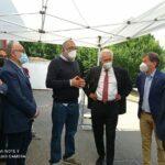 Da sinistra Renzo Berti Paolo Morello Filippo Campa Eugenio Giani Federico Ignesti Paolo Poli