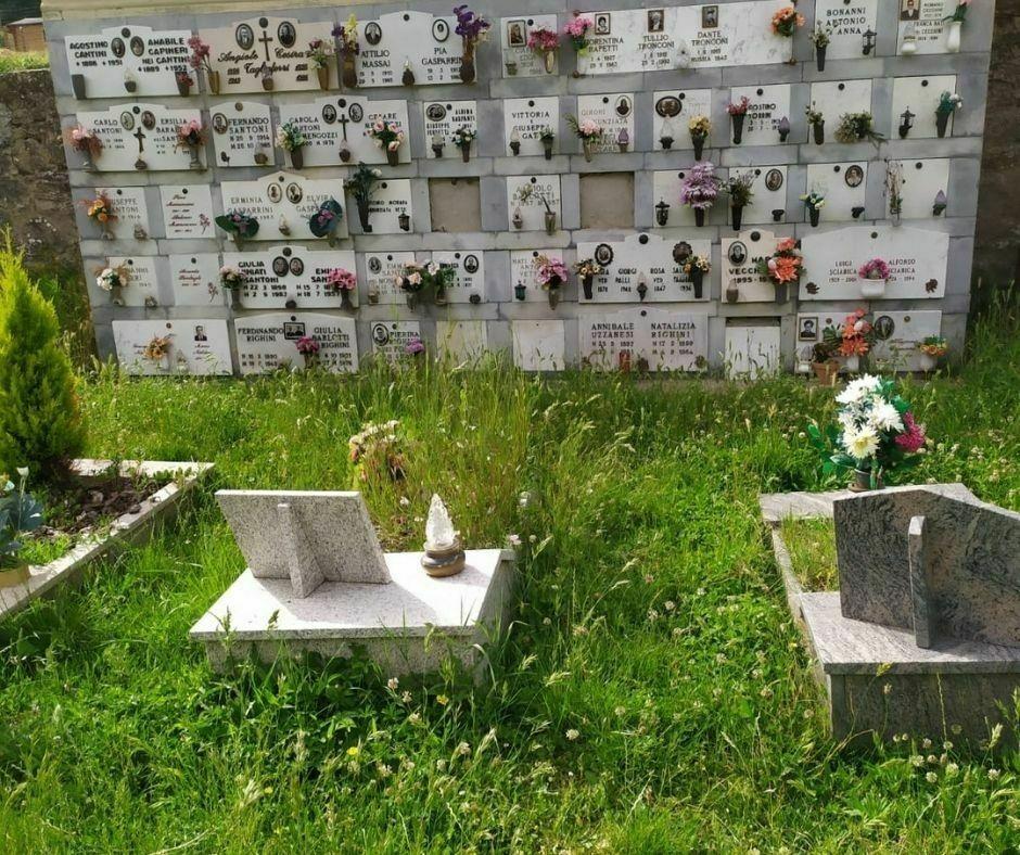 Degrado e incuria Cimitero Gattaia