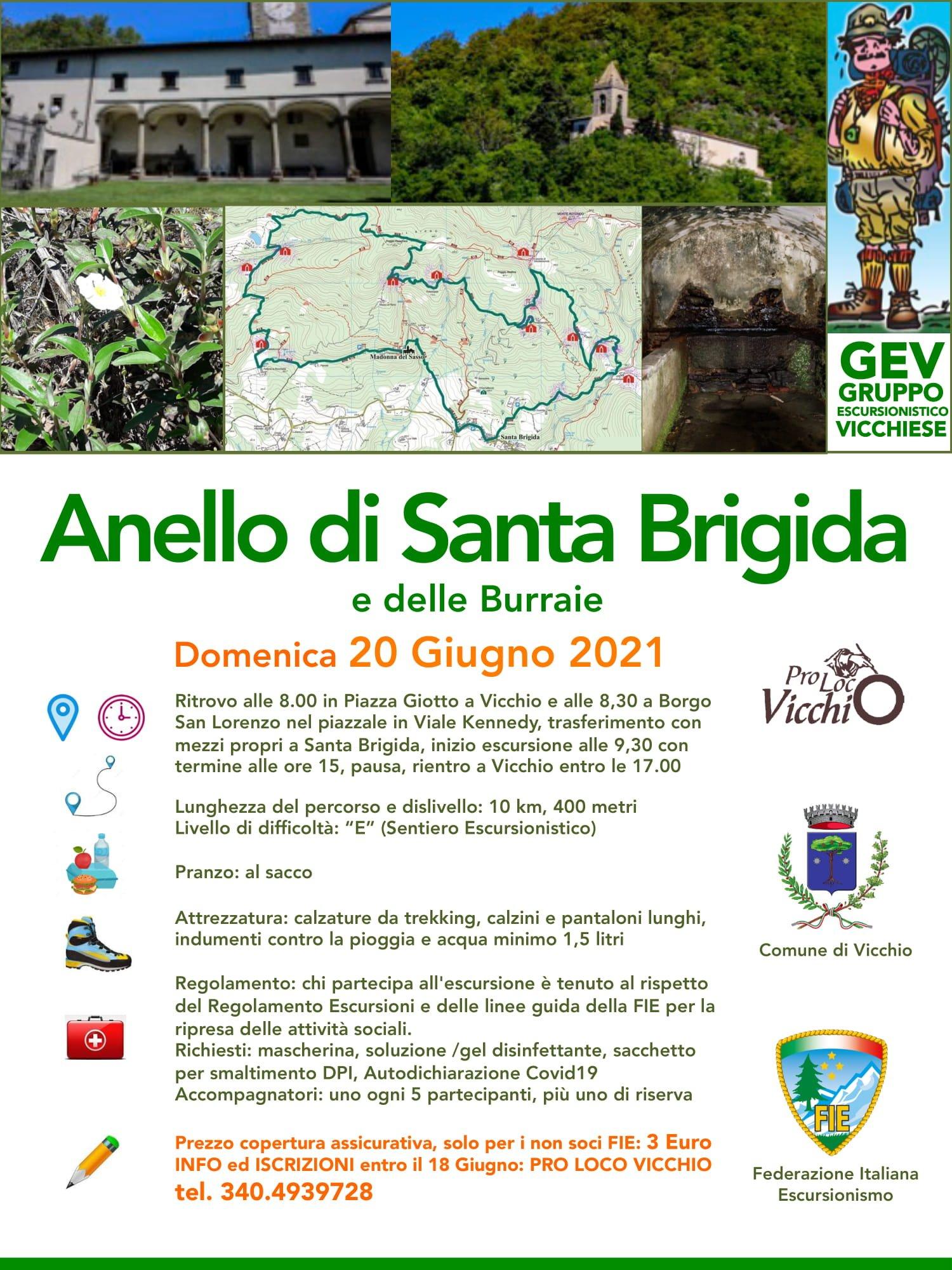 Escursione Gev Anello Santa Brigida