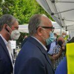Il direttore generale Asl Morello con Renzo Berti direttore Prevenzione Asl