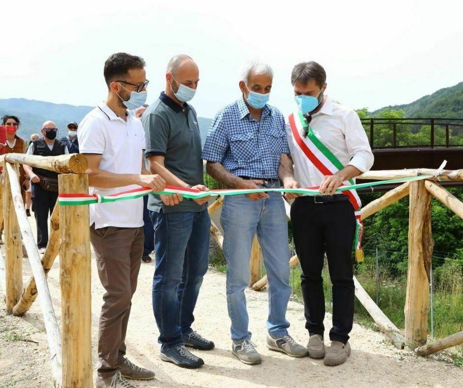 Inaugurazione Passerella pedonale Piandrati - Dicomano