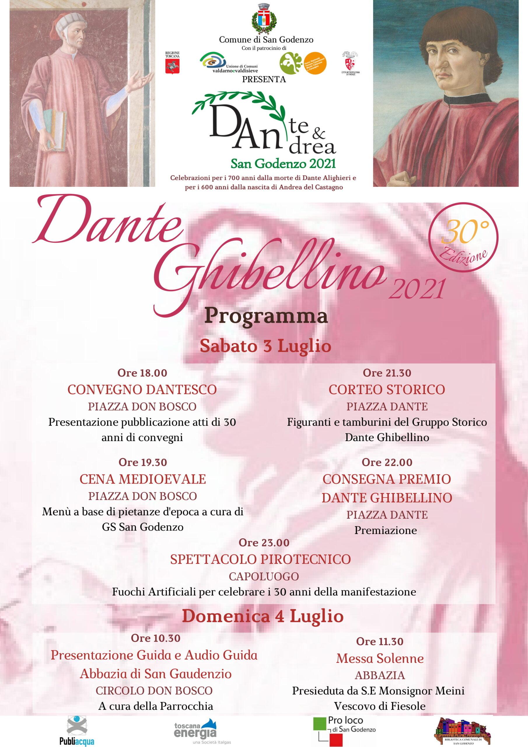 Locandina Dante Ghibellino