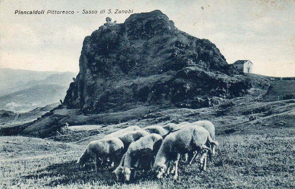Sasso di San Zanobi - foto d'epoca