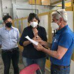 Triberti & Saccardi in visita a Firenzuola