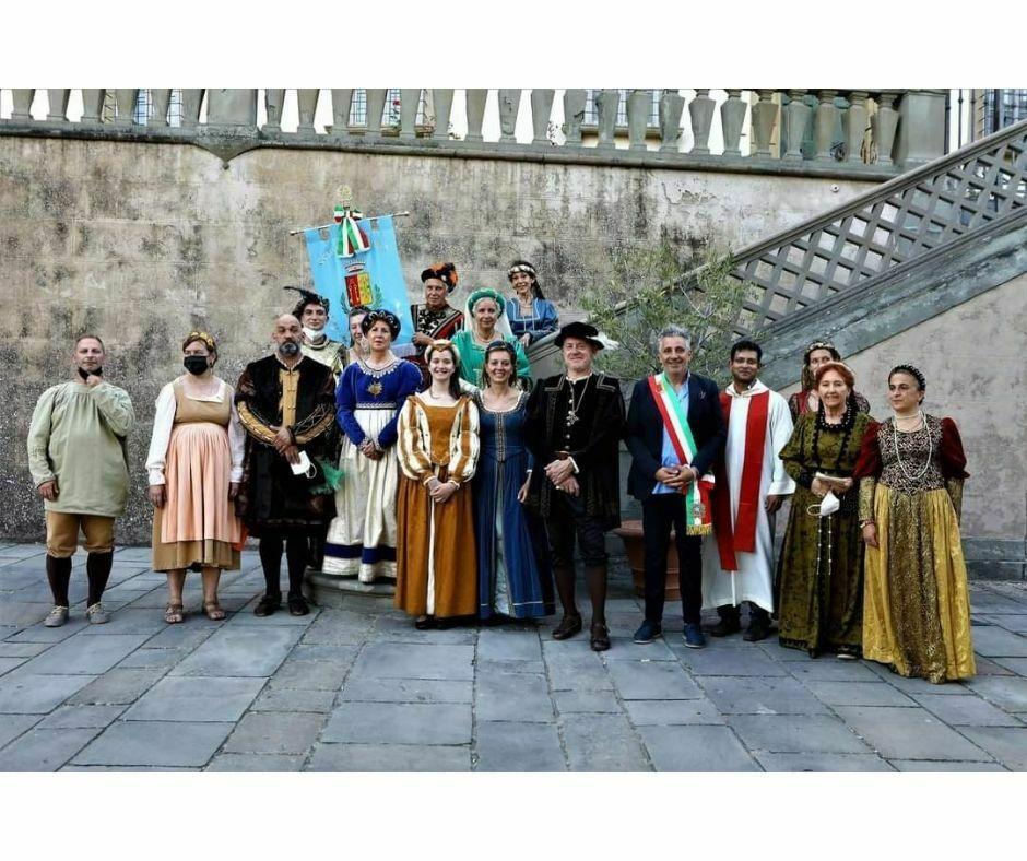Cero votivo di Turicchi per San Romolo