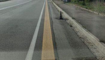 Griglia pericolosa Viale Kennedy - Borgo
