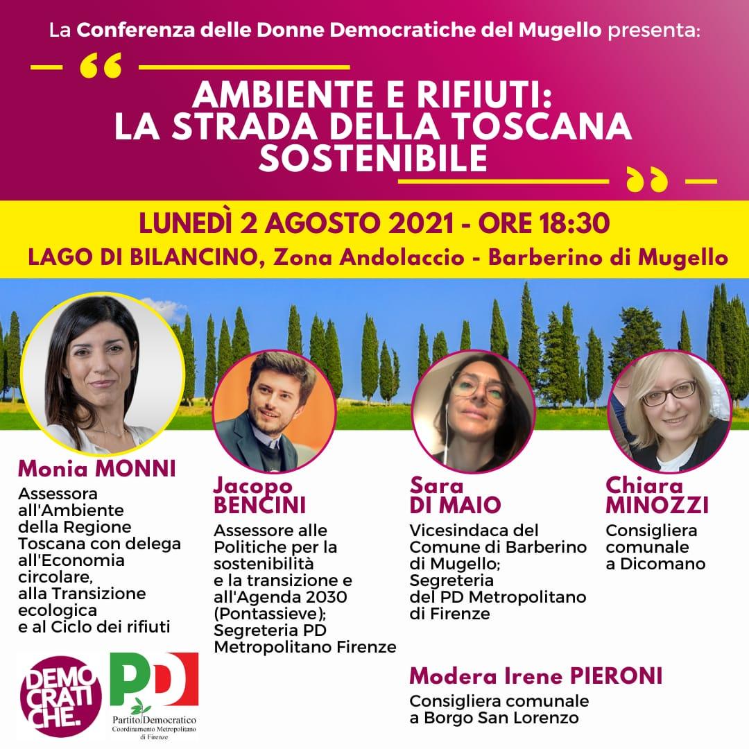 Iniziativa a Barberino - Donne PD Mugello