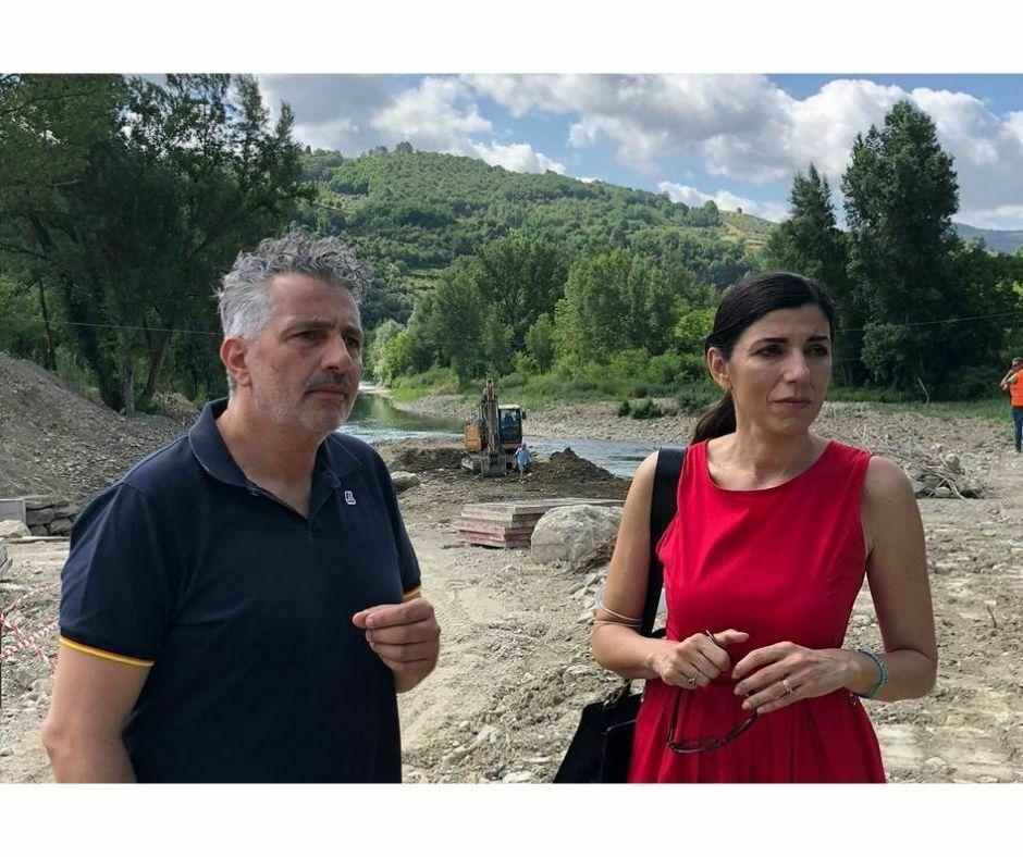 Monia Monni con Vito Maida