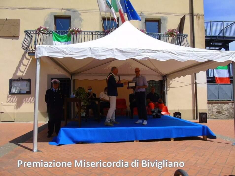 Premiazione Misericordia di Bivigliano