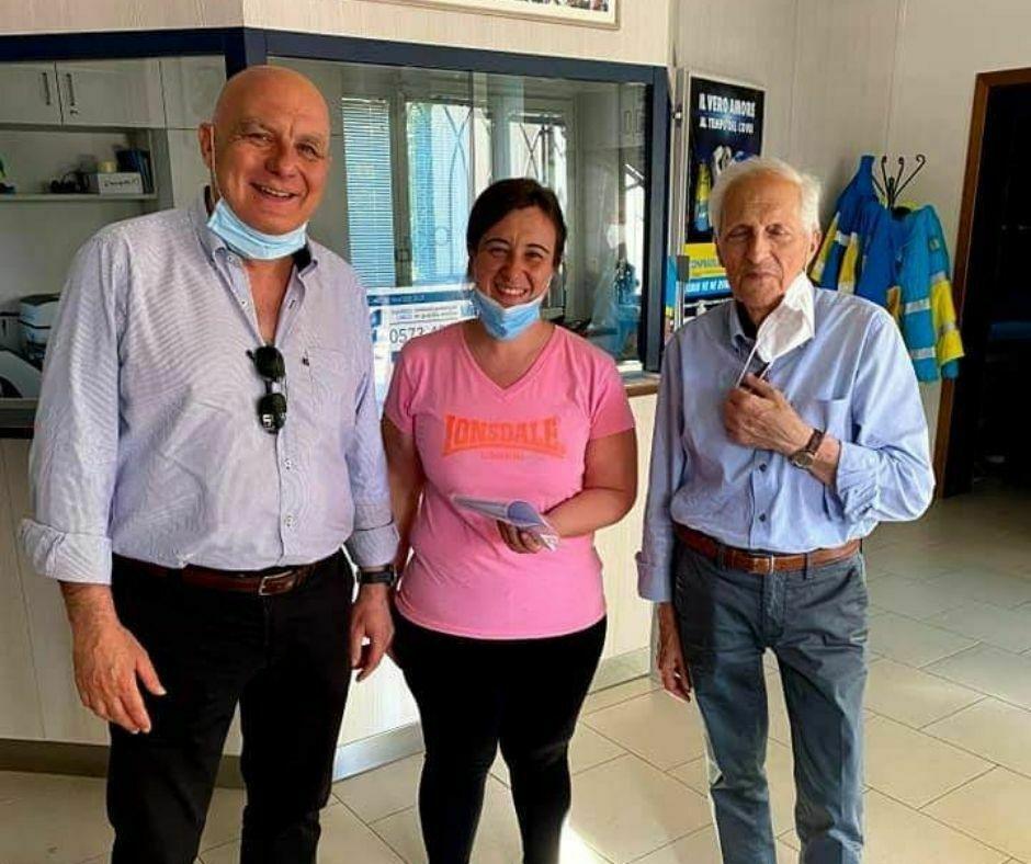 Rotary Club Mugello consegna buoni spesa - parrocchie