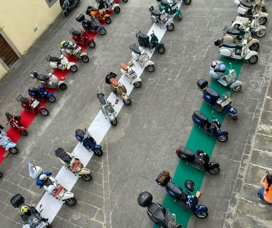 Vespa Club Fiesole a Rufina