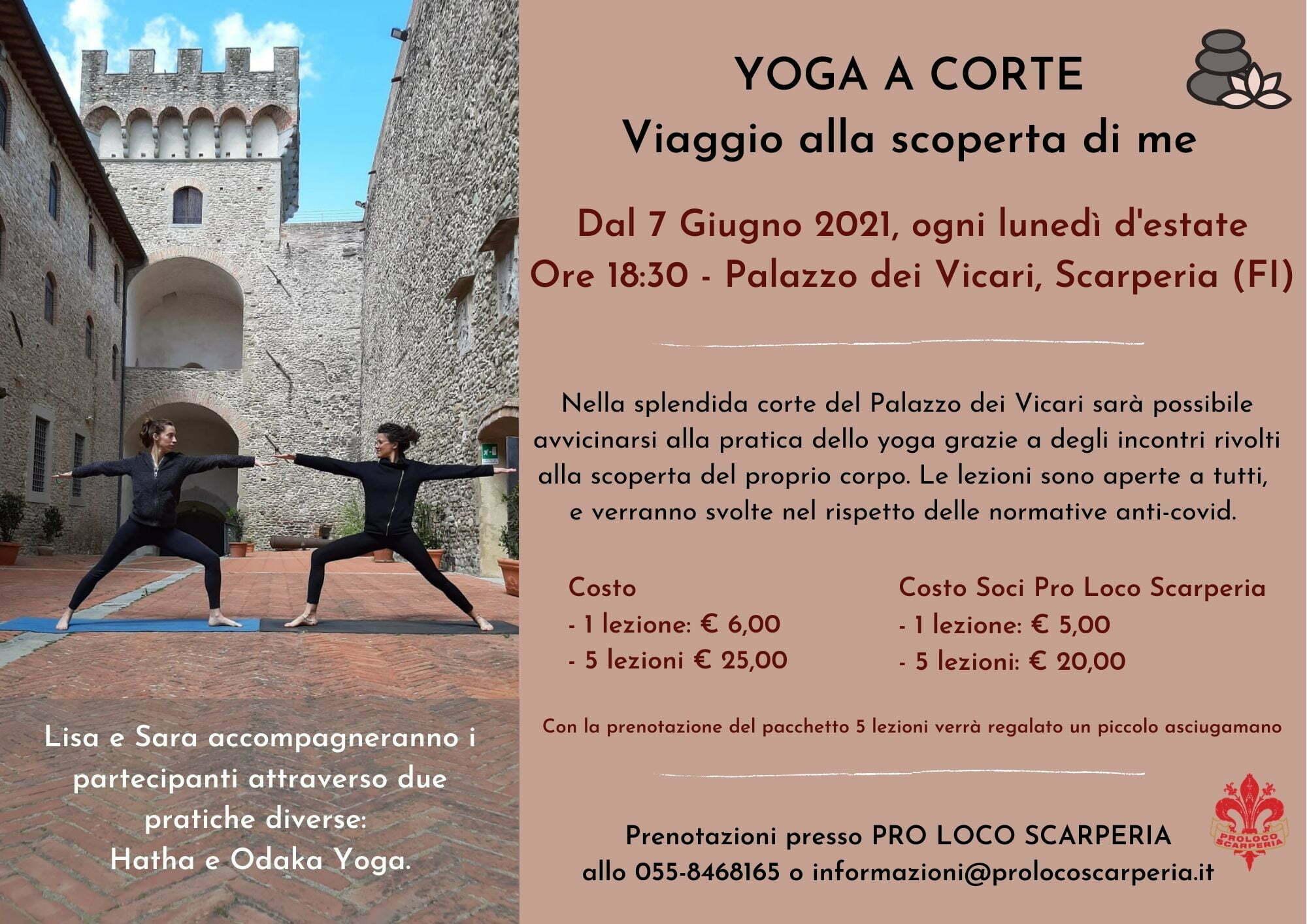 Yoga a Corte Viaggio alla scoperta di me