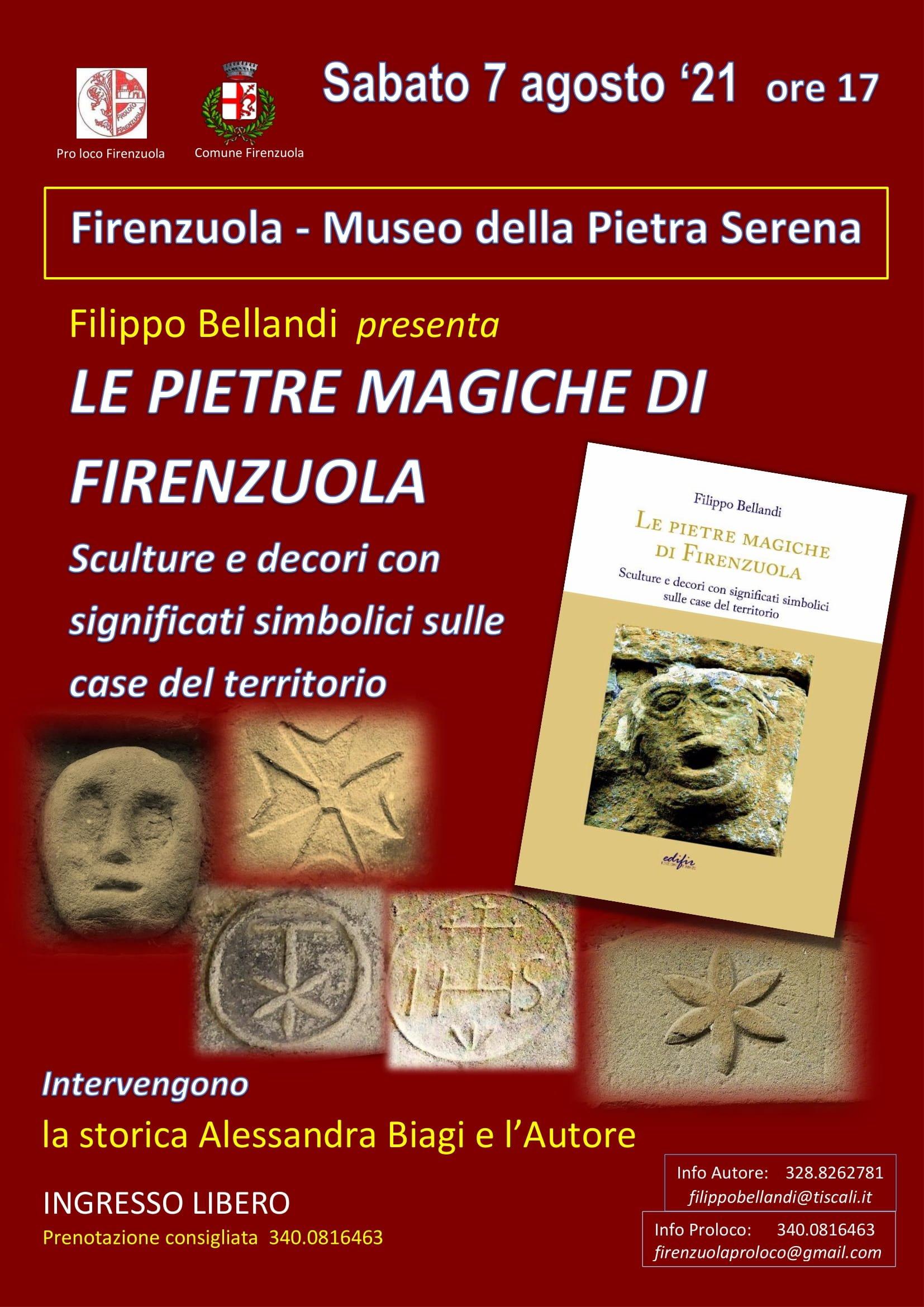 locandina pietre magiche Firenzuola