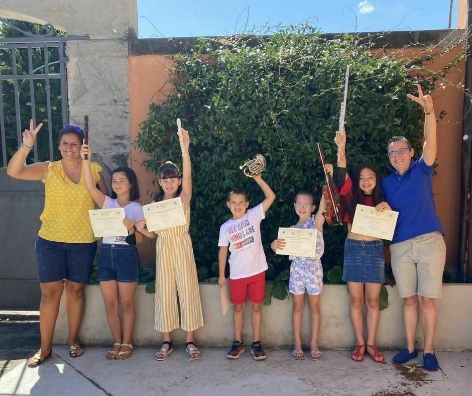 I vincitori del Concorso Internazionale Città di Sarzana con le loro docenti_3