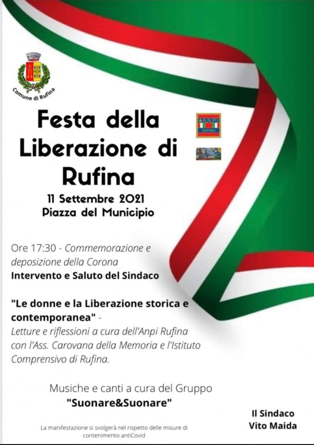 Anniversario Liberazione Rufina