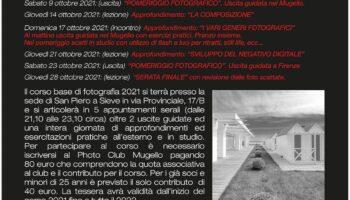 Calendario Corso Fotografia