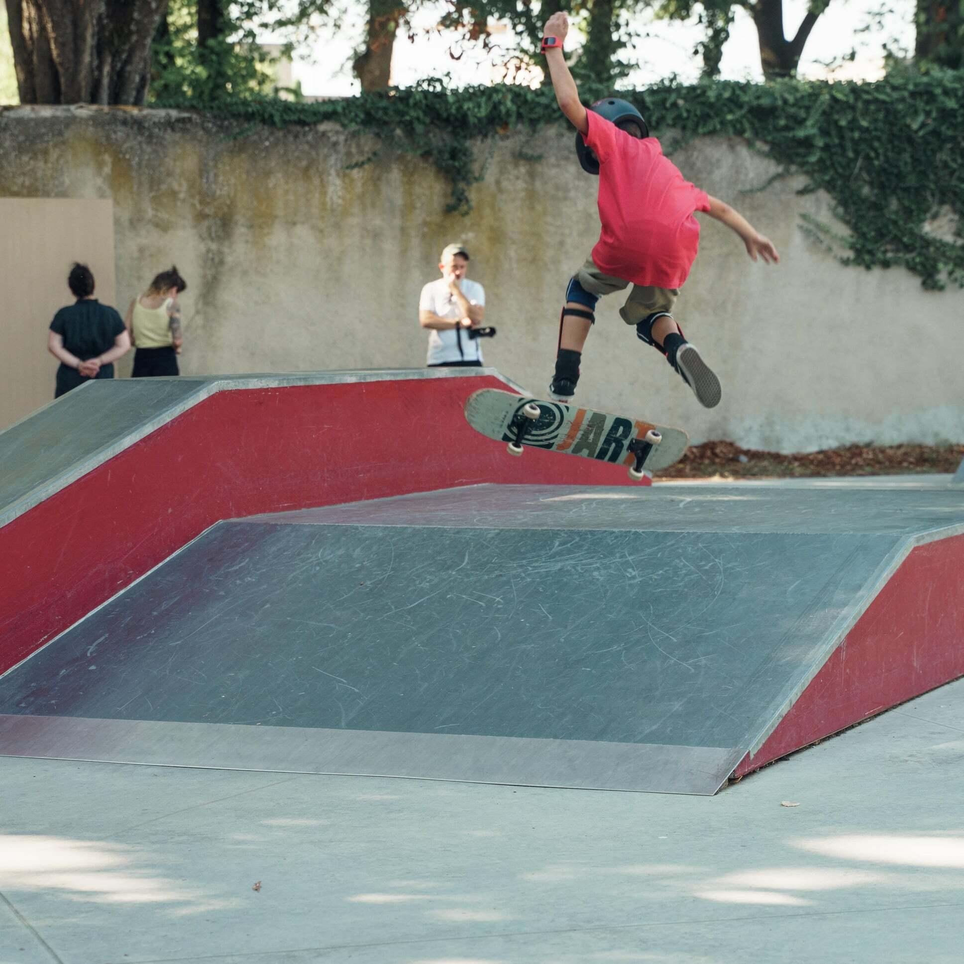 Il brivido di skateboarding