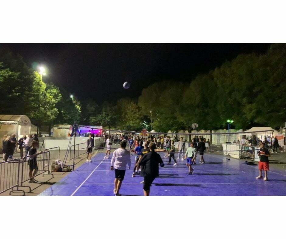 La gioia dei bambini di Vivi lo Sport - Partita #Pallavolo – 2021