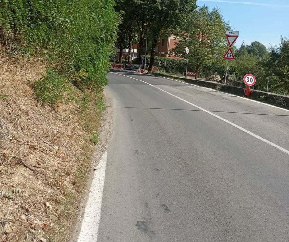 Lettore invia foto Nuova rotatoria San Piero a Sieve (2)