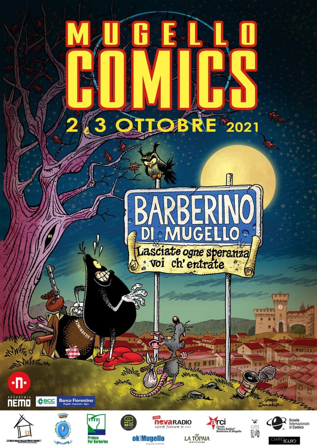 Locandina Mugello Comics