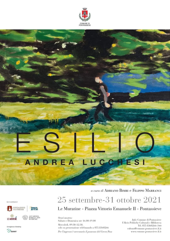 Locandina mostra Esilio - Pontassieve