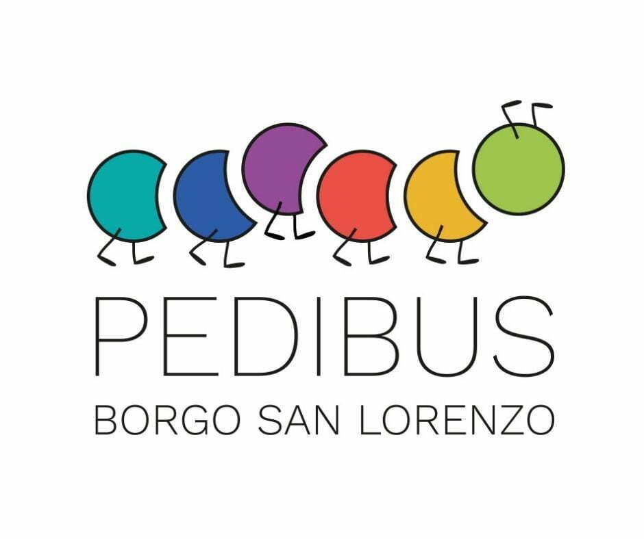 Logo Pedibus 2021 BSL colori sfondo bianco_2