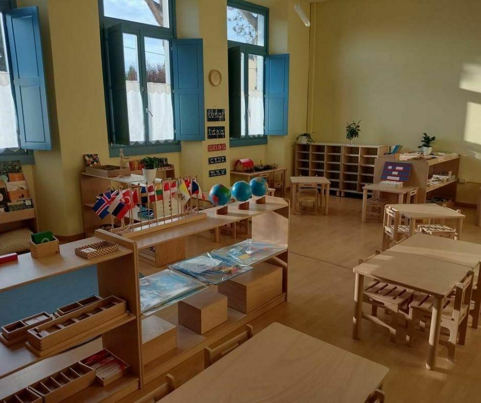 Sezione Montessori a Piazzano (Vicchio)