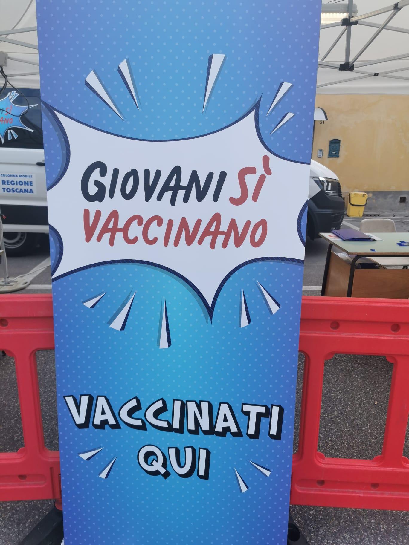 Vaccinati Qui ieri a Borgo San Lorenzo