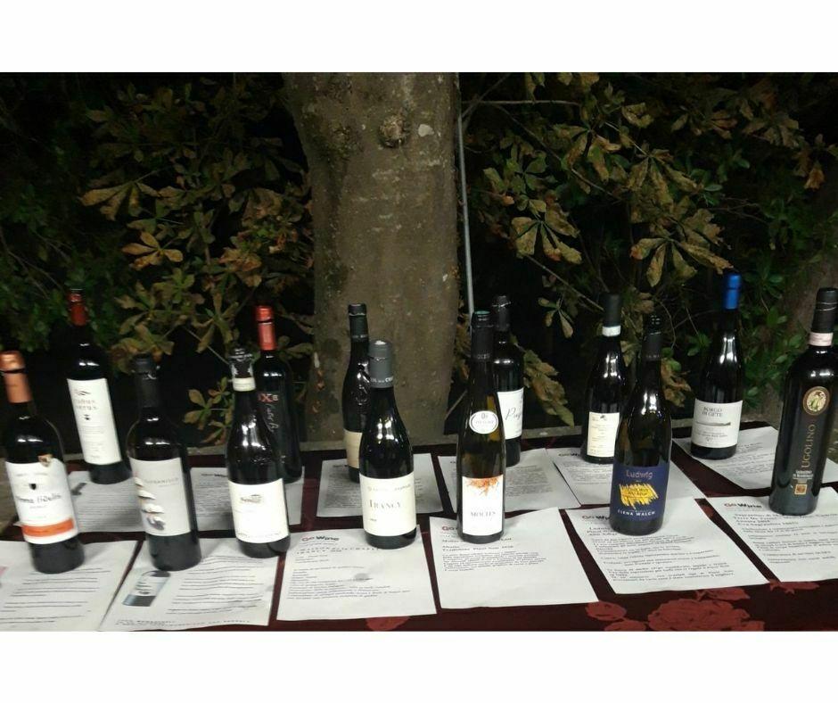 Le bottiglie esposte durante la serata (2)