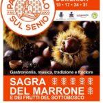 Locandina Sagra del marrone e dei frutti del sottobosco - Palazzuolo